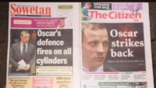 South African papers, Sowetan and The Citizen