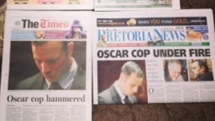 South African papers, The Times and Pretoria News