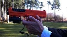 Police DNA gun