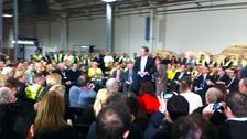 Prime Minister Cameron at Prysmian