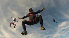 Patrick Sandeman was an experienced skydiver