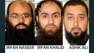 Irfan Naseer, Irfan Khalid and Ashik Ali