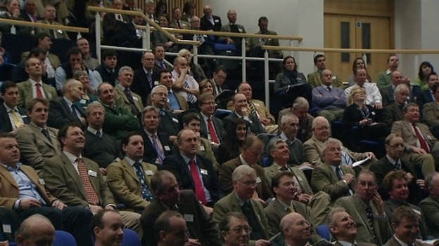 Delegates at the Norfolk Farming Conference