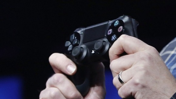 Sony unveils the the new Dual Shock 4 controller to go with the PlayStation 4.