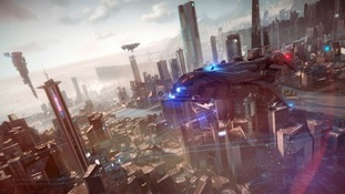 An image from Sony's new PlayStation 4 game Killzone.