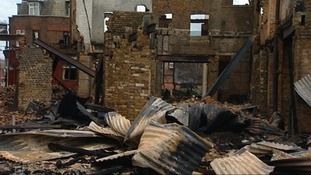 The House of Reeves the morning after the riots