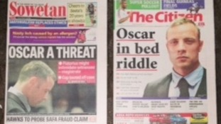 South African papers, The Sowetan and The Citizen
