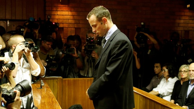 Oscar Pistorius in court today