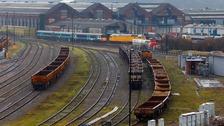 Eastleigh railworks