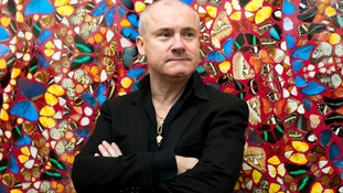 Artist Damien Hirst.
