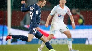 David Beckham plays his first game for Paris St-Germain