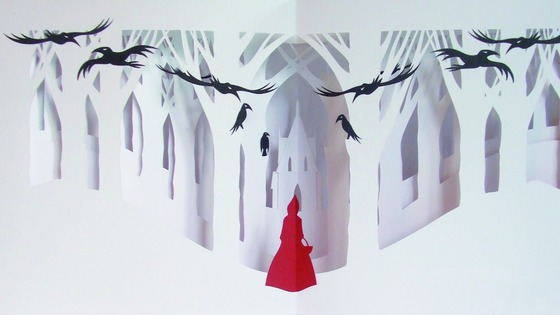 Mike Mason's pop-up book