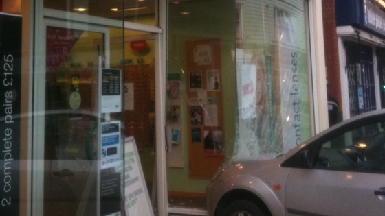 Opticians crash