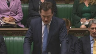 George Osborne addresses MPs as responds to the UK's credit rating downgrade