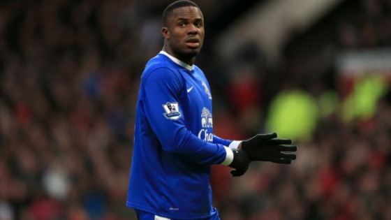 Everton striker Victor Anichebe remains an injury doubt