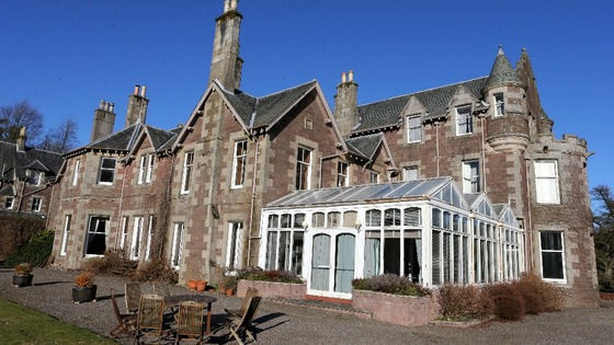 Cromlix House Hotel, which was snapped up for 1.8m by tennis ace Andy Murray.