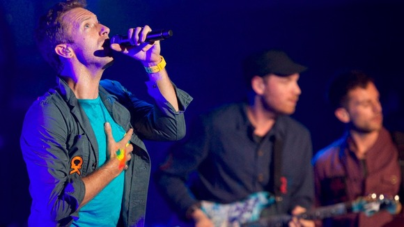 British rockers Coldplay are the ninth highest earners in Billboard's chart, with a $17.3m income.