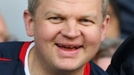 TV football presenter Adrian Chiles