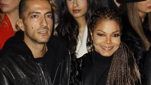 Janet Jackson and Wissam Al Mana at Milan Fashion Week.