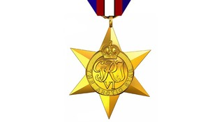 An artist's impression of the Arctic Star medal