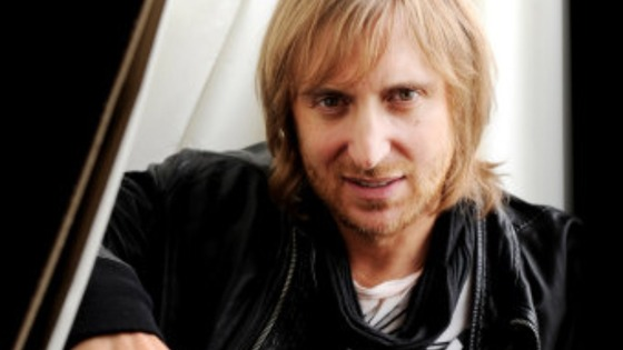 French music producer David Guetta performed at Creamfields in 2012