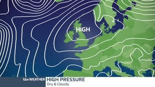 High pressure chart