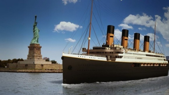 An artist's impression of Titanic II.