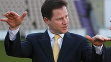 Deputy Prime Minister and Liberal Democrat Party Leader Nick Clegg 