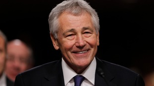 The Senate has voted to confirm Chuck Hagel as the US Defence secretary.