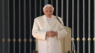 Pope Benedict XVI is holding his final public audience