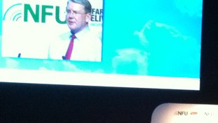 NFU president Peter Kendall