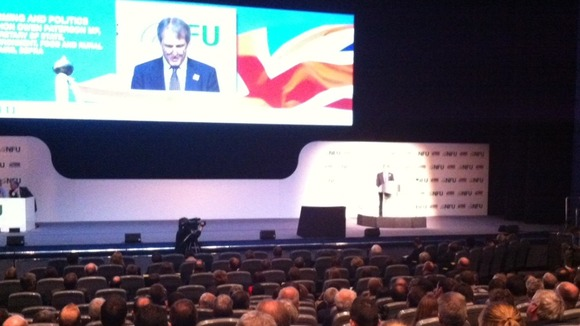 Owen Paterson MP at the conference 