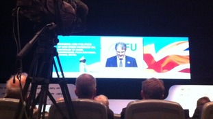 Owen Paterson MP at NFU conference