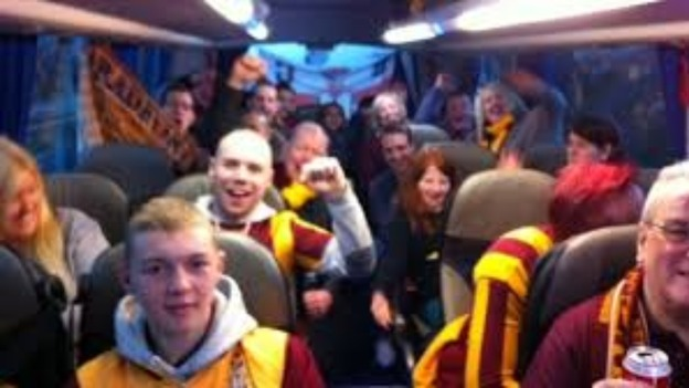 Bradford City fans