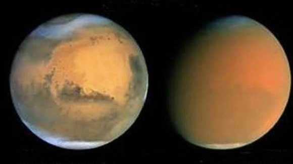 NASA photo of Mars where Inspiration Mars Foundation hope to send two private citizens