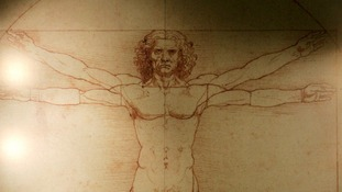 Leonardo da Vinci's 'Vitruvian Man' is based on the correlation of ideal human proportions - the ideal astronaut?