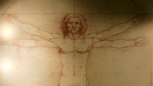 Leonardo da Vinci's 'Vitruvian Man' is based on the correlation of ideal human proportions - the ideal astronaut?