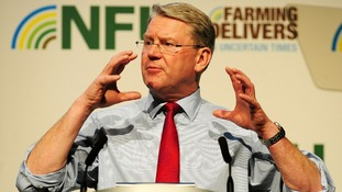 National Farmers' Union president Peter Kendall  pictured today.