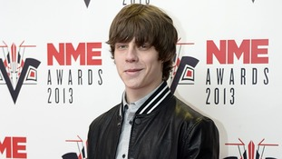 Jake Bugg arriving for the 2013 NME Awards.