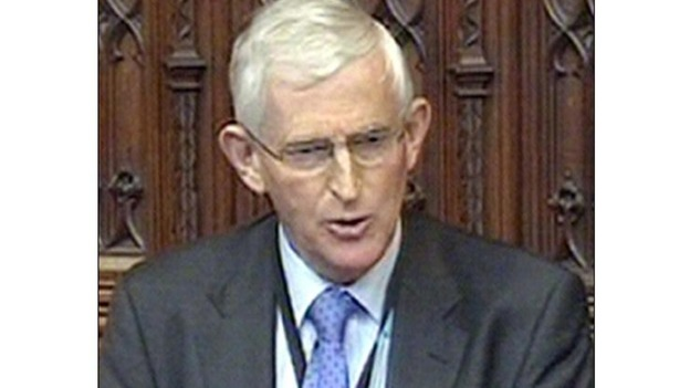 Liberal Democrat peer Lord Stoneham speaking in the House of Lords
