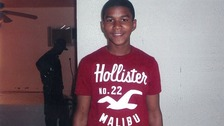 Trayvon Martin was shot dead in Florida in February.
