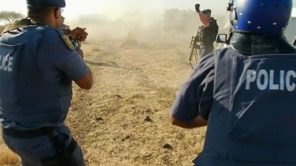 South African Police A Record Of Brutality Itv News