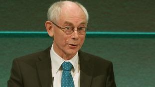 European Council President Herman van Rompuy pictured earlier this year