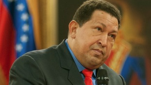 Picture dated October 9, 2012 of Venezuelan President Hugo Chavez