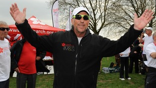 Beefy Botham's Great British Walk for cancer charity