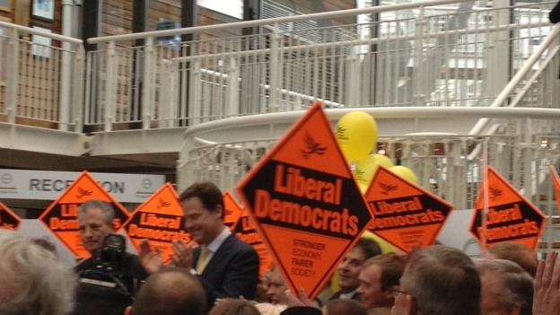 Mike Thornton & Nick Clegg