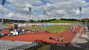 The Don Valley stadium in Sheffied was opened in 1991