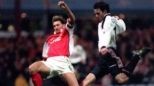 The goal that defined his career. United vs Arsenal FA cup semi final, April 1999.