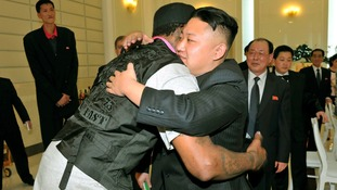 Much to be read into NBA star's North Korea visit