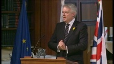 Carwyn Jones FM in Brussels